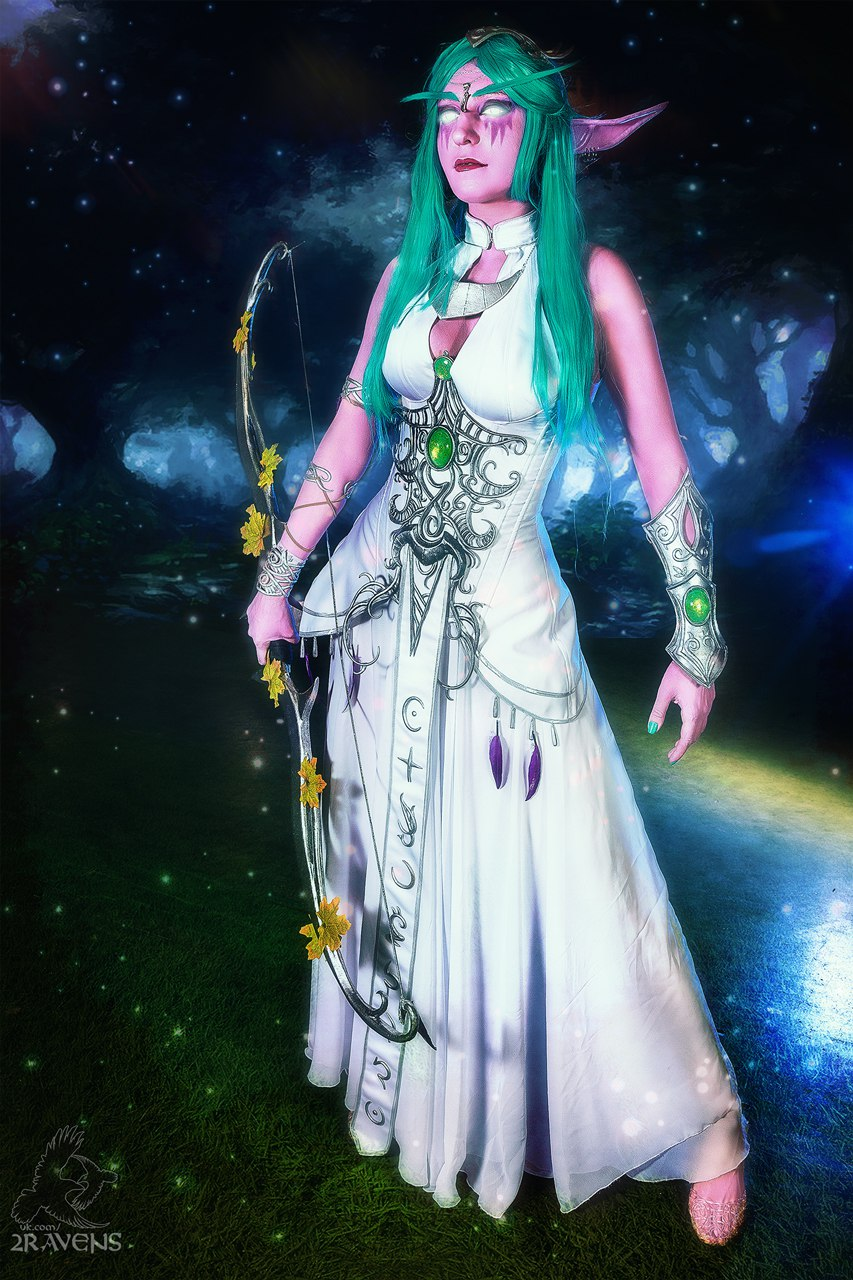 Anime Halloween Wallpaper World Of Warcraft Tyrande Whisperwind Costume Has All The