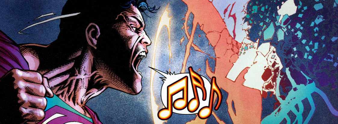 What did Superman Sing to Darkseid in Final Crisis?