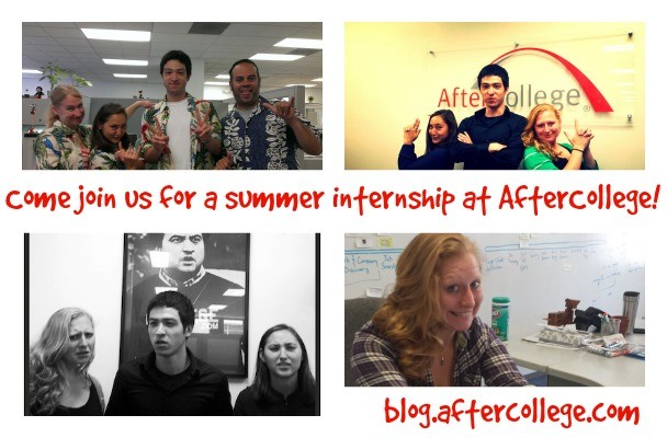 Looking for a Summer Internship in San Francisco? Work With Us