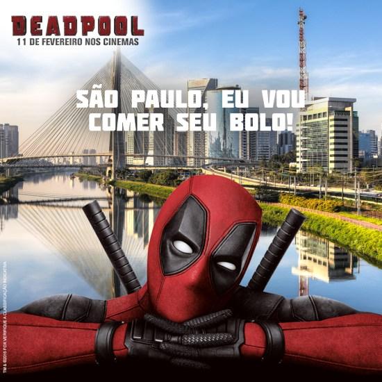 Deadpool - Aniversário de São Paulo