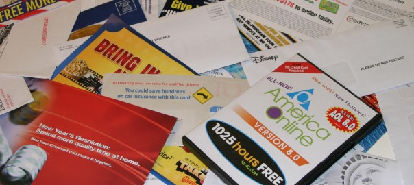 4 Steps to Getting Rid of Junk Mail
