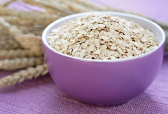 bowl full of oats - healthy eating - food and drink