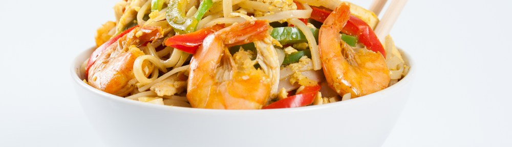 Yummy, Healthy Singapore Noodles