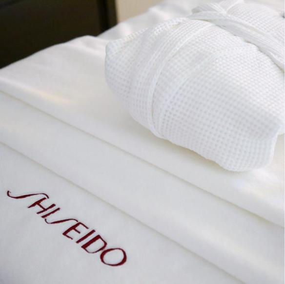 Shiseido spa bed