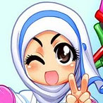 Manga-style Islamic Greeting Cards