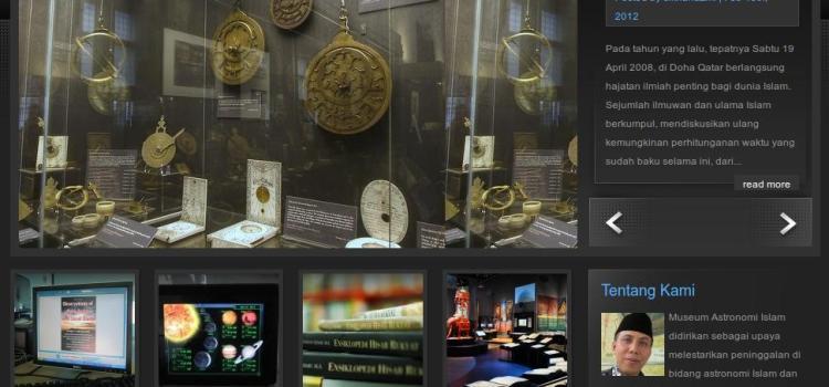 Museum Astronomi Islam Diluncurkan