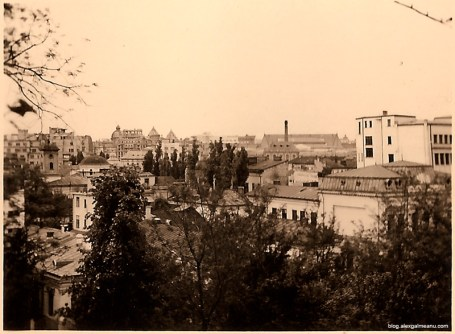 O panorama a Bucurestiului asa cum arata in 1941.