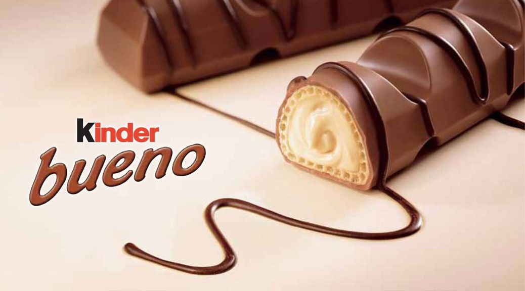 destacado kinder bueno chocolate