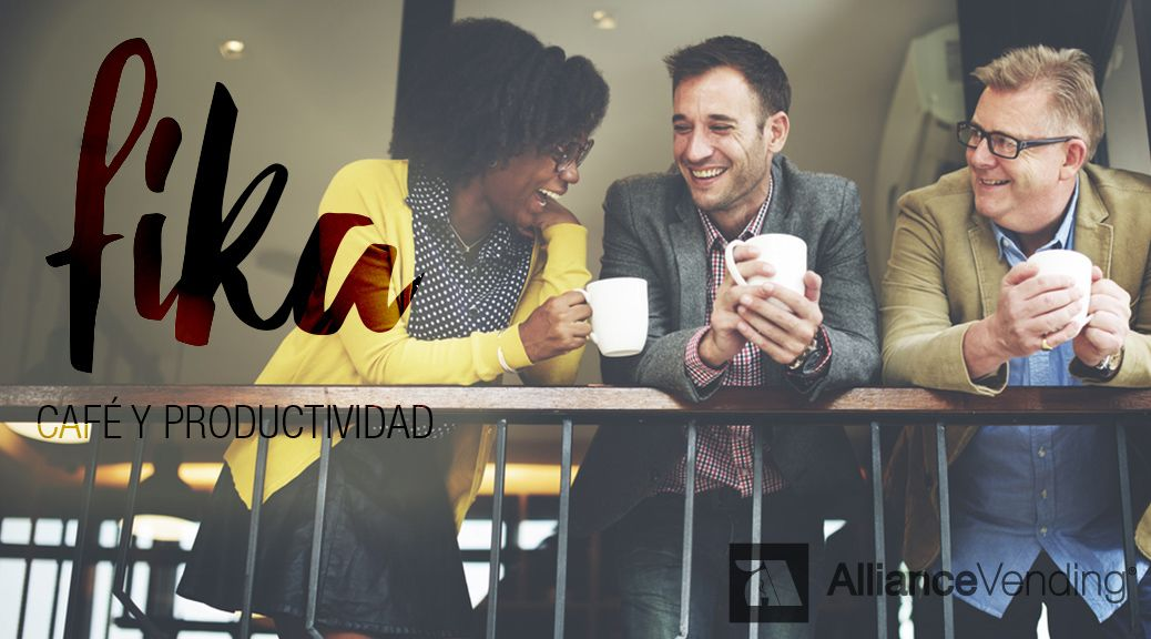 fika café y productividad Alliance Vending