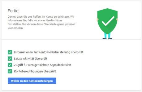 Bis zum 16. Februar verschenkt Google noch 2 GB Drive-Speciher extra. Alles was Du dafür tun musst ist am Google-Sicherheitscheck teilnehmen!