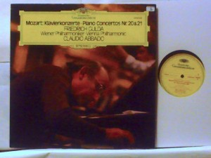 Gulda, Abbado / Winner Philharmoniker - MOZART : PIANO CONCERTOS NR.20, 21 - DEUTSCHE GRAMMOPHON 2530 548