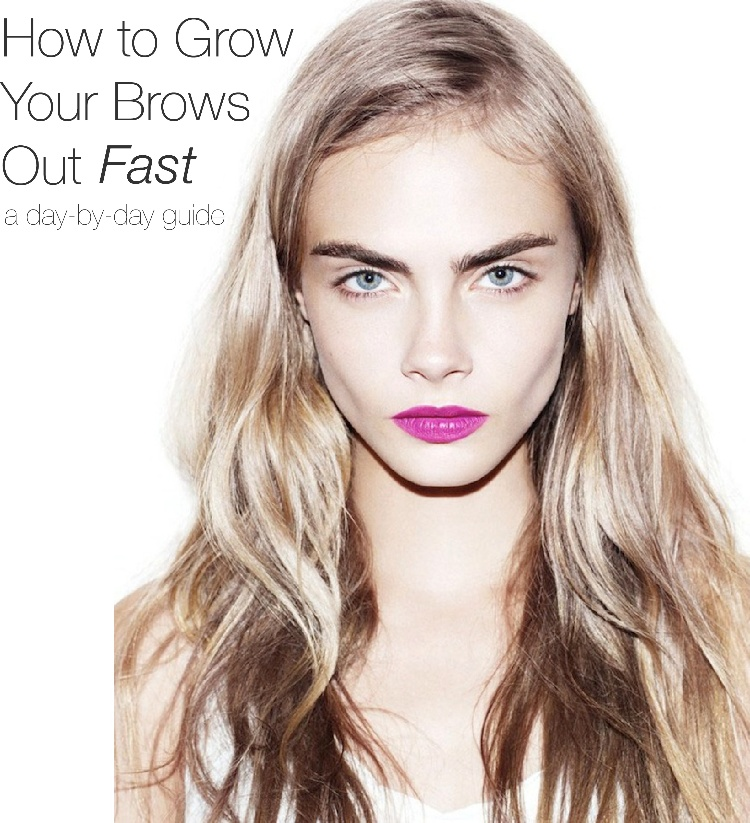How To Grow Brows Out Fast A Day By Day Guide Amalie Blog