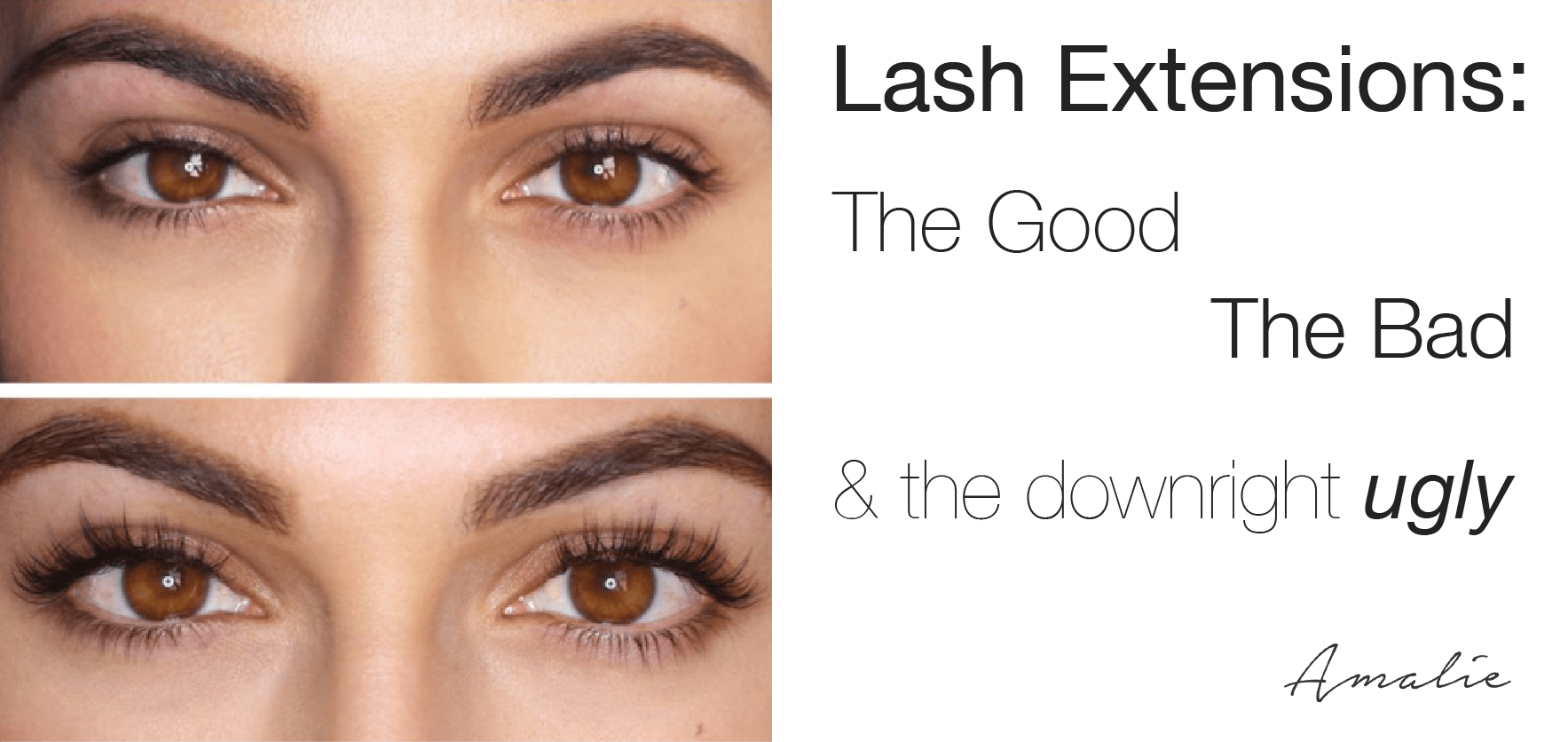 Eyelash Extension Pros & Cons: The Good, The Bad and the Ugly ...