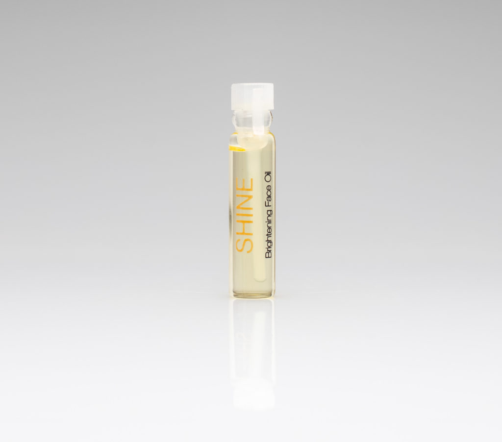 shine sample vial
