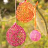 Crafty Yarn Egg Decor