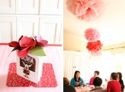 Pink and Red Baby Shower