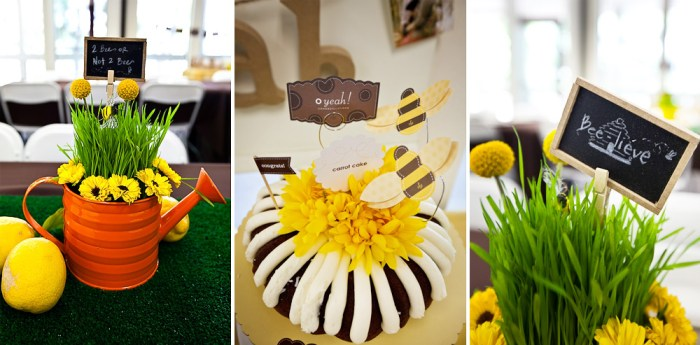noah baptism 072 700x345 Bee Inspired Guest Dessert Feature