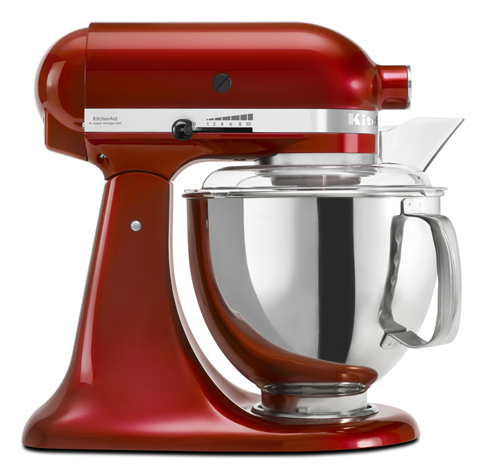 5KSM160APSCA3 KitchenAid Stand Mixer Giveaway Winner!