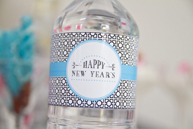 WaterBottles andersruff New Years Eve Glam Printables
