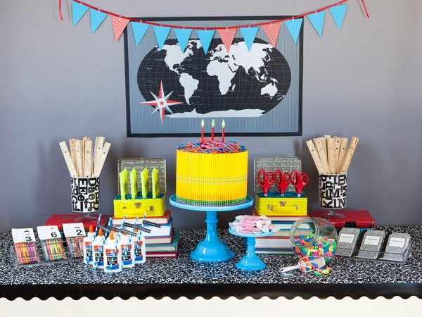 back to school dessert table School Days Guest Dessert Feature