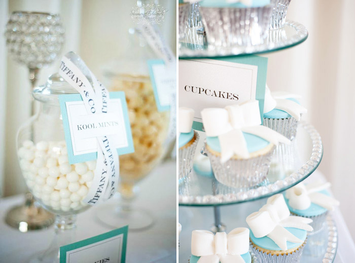 Tiffany Inspired Guest Dessert Feature | Amy Atlas Events