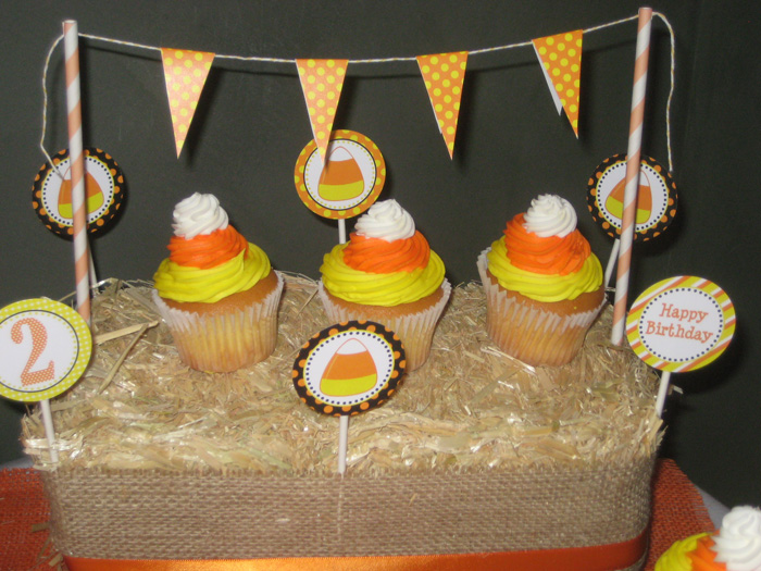 Andrews 2nd birthday 301 Copy1 Candy Corn Guest Dessert Feature