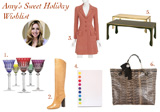 Amy's Sweet Holiday Wishlist