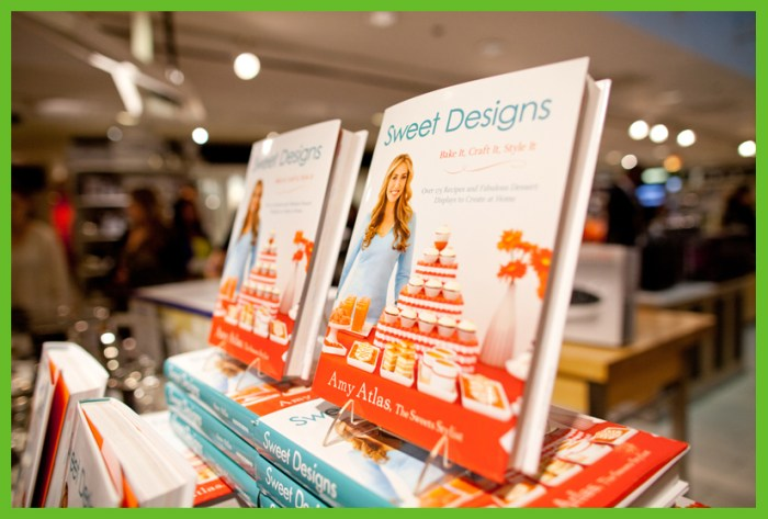 BOOK21 700x473 Behind The Scenes: Bloomingdales Sweet Designs Book Signing