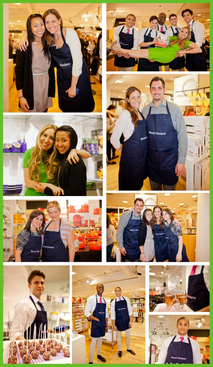 Crew1 700x1204 Behind The Scenes: Bloomingdales Sweet Designs Book Signing
