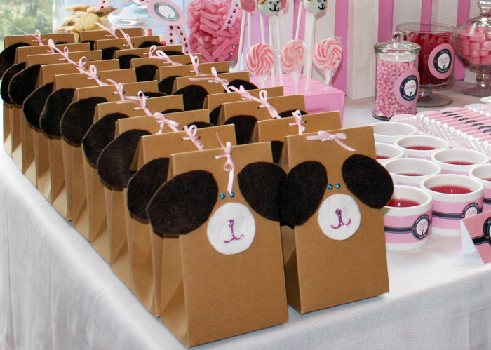 Lajari Puppy Party Favour Boxes Puppy Party Guest Dessert Feature