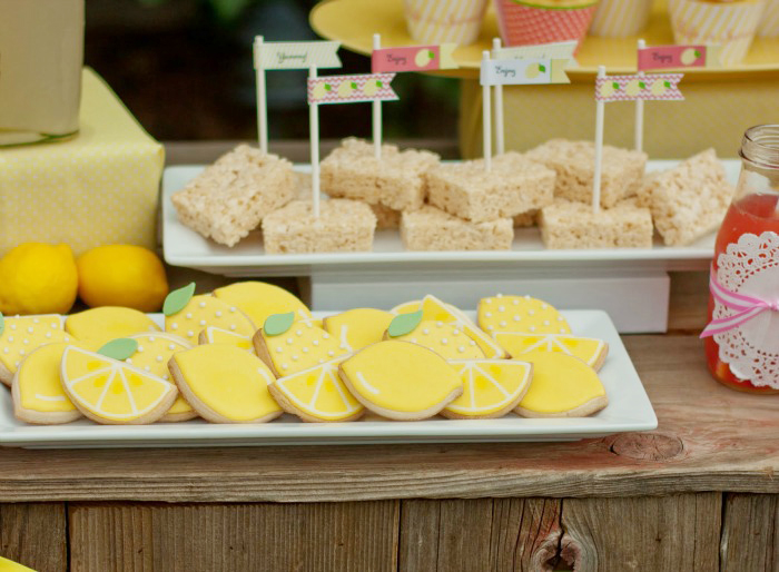 Lemonade Stand Treats Giggles Galore Sweet Lemonade Stand Guest Dessert Feature