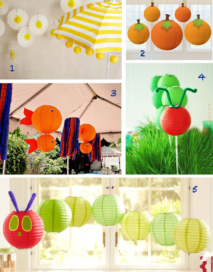 Paper Lanterns1 Great Finds: Paper Lantern Party