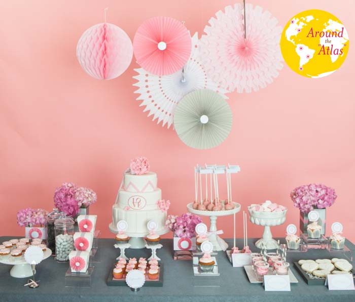 Full table for Guest Dessert Table from The Netherlands