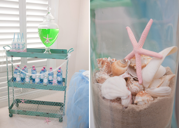 Magical Mermaid Dessert Table
