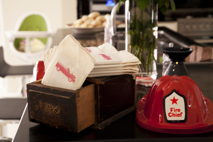 Vintage Firetruck Inspired Dessert Table Boys Parties Party Favors