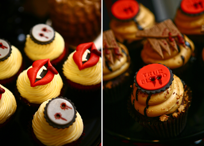 True Blood Halloweekend Countdown: True Blood Dessert Table
