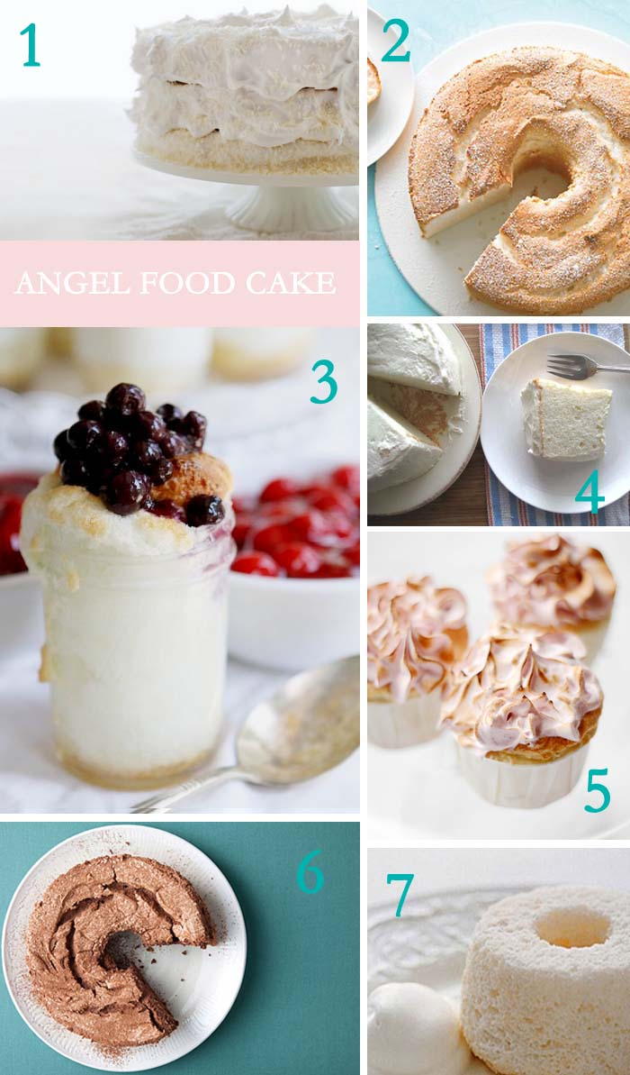 AngelFood21 Sweet Origins: Happy Angel Food Cake Day