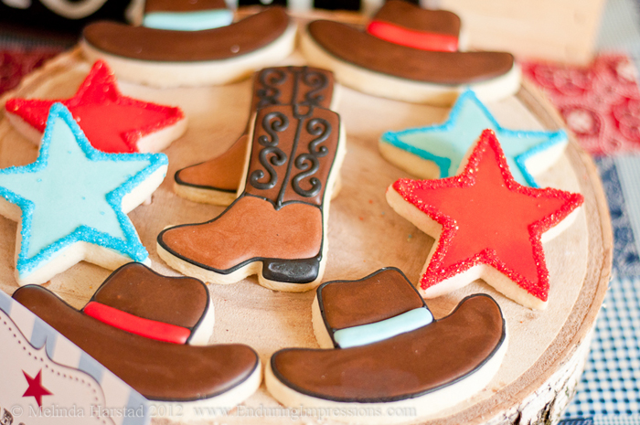 Cowboy Inspired Dessert Table Party for Kids