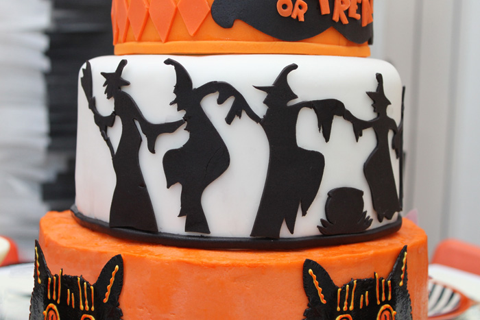 Halloween Party Ideas Witch Cake