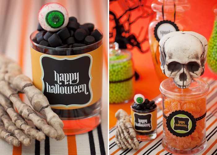 Spooky Halloween Party with printables