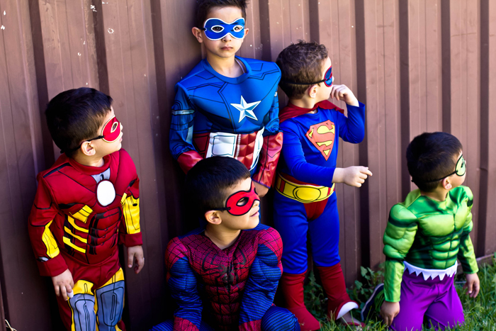 Superman Inspired Party Costum Ideas