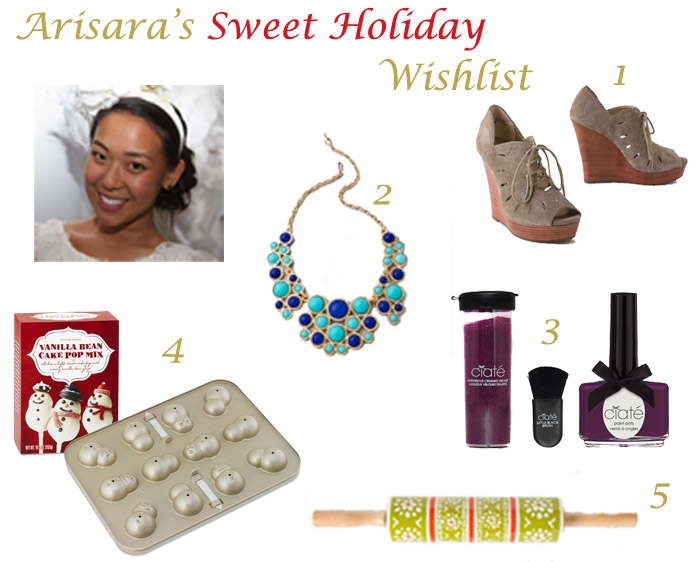 Arisara Arisaras Sweet Holiday Wishlist
