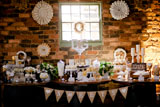 Rustic Wedding Guest Dessert Feature
