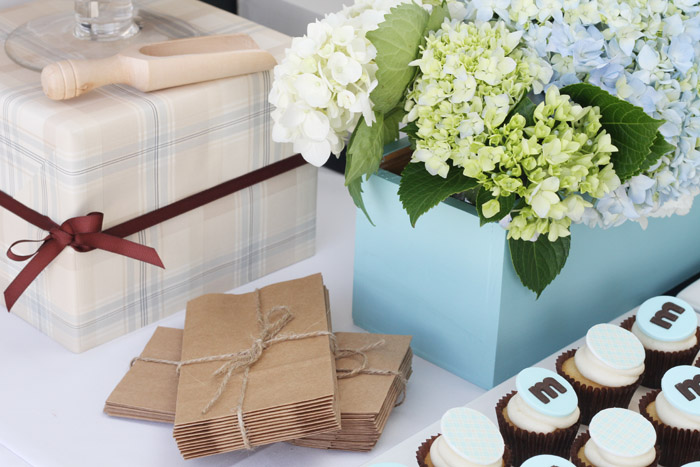 Perfectly Plaid Dessert Table for Boys
