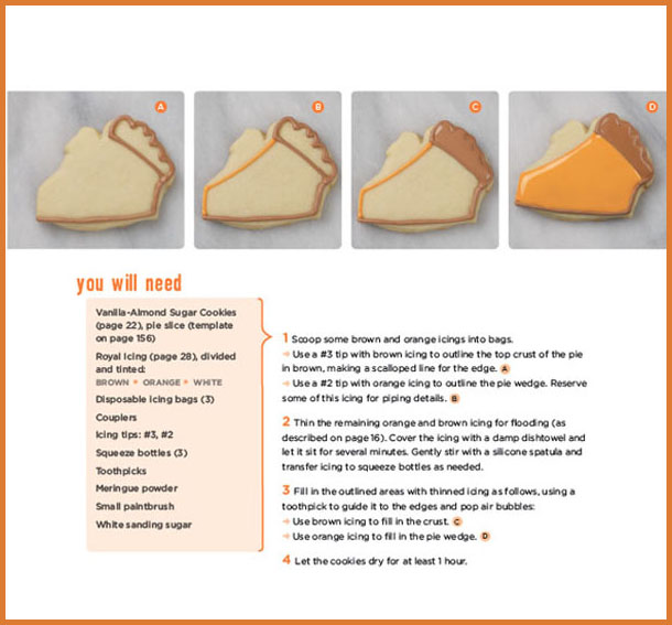 Decorating Cookies by Bridget Edwards Pumpkin Pie Cookies