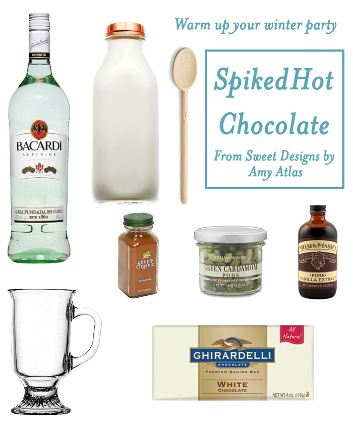 SpicedWhiteChocoalte2 Recipe   Warm Up Your Holiday with Spiked White Hot Chocolate