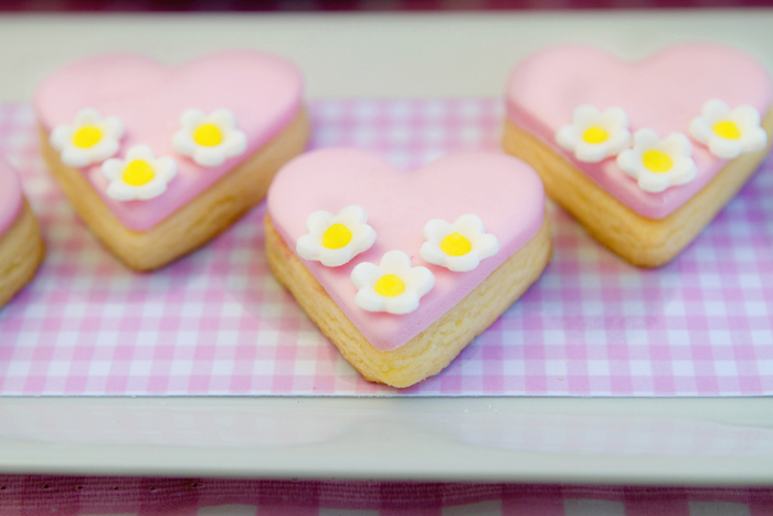 Heart shaped cookies Picnic Guest Dessert Feature