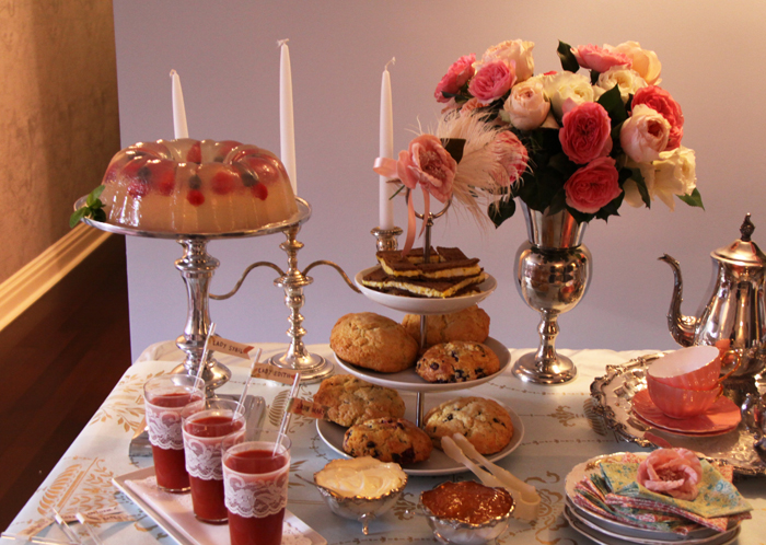 scones moldedjelly Tips for Throwing a Downton Abbey Premiere Party {+ Today Show and E! News Videos}