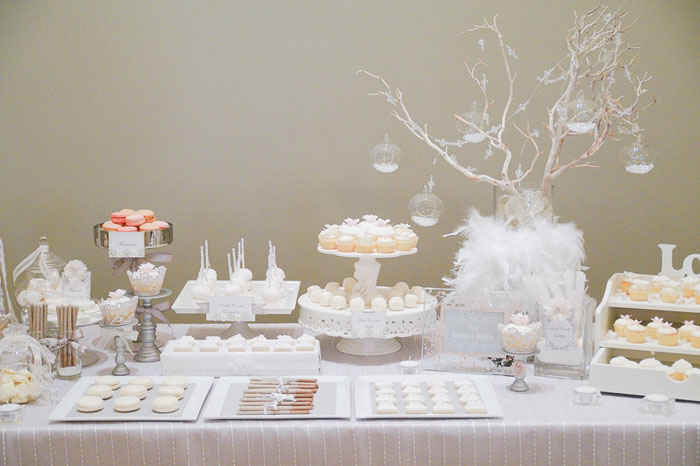 White Wedding Dessert White Wedding Guest Dessert Feature