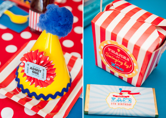 Circus Favors Curious George Circus Guest Dessert Feature
